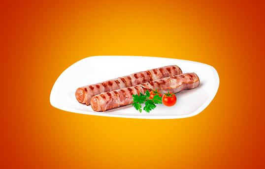Колбаски «Деликатесные в беконе»